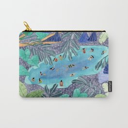 Midnight jungle pool Carry-All Pouch