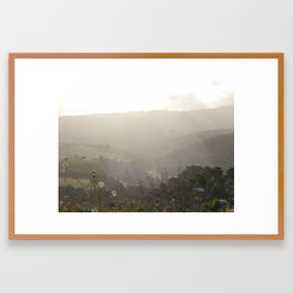 Summertime Framed Art Print