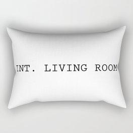 INT. LIVING ROOM Rectangular Pillow