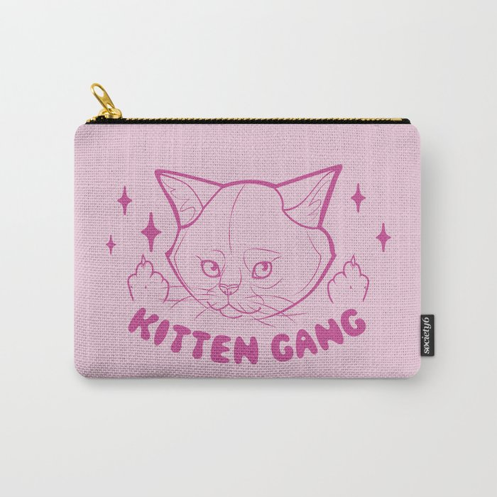 Kitten Gang Carry-All Pouch