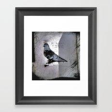 Rings, Wings, Halo's or Horns... Framed Art Print