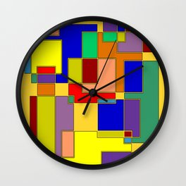 Abstract #26 Buried in the Archives Wall Clock