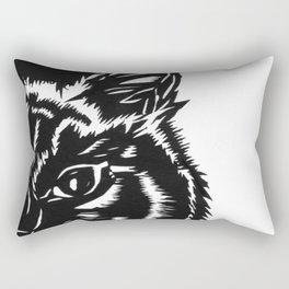 Paper Cat Rectangular Pillow