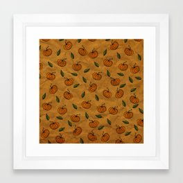 Autumn Texture Framed Art Print