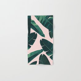 Banana Leaves - Cali Vibes #1 #tropical #decor #art #society6 Hand & Bath Towel