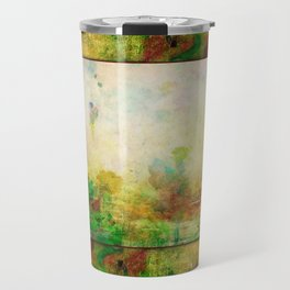Ginkelmier Land ~ Watercolor Fairy Garden Travel Mug
