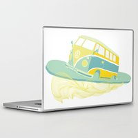 surf Laptop & iPad Skins featuring Surf by Julia Brnv