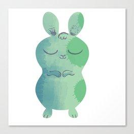 Sleepy Bunny 2 Canvas Print