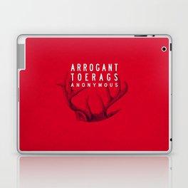 ARROGANT TOERAGS ANONYMOUS Laptop & iPad Skin