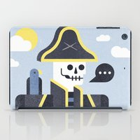 men iPad Cases featuring Dead Men Tell No Tales by Chase Kunz