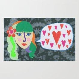 Paper Dollies - LoveTalk Rug