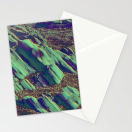 coastal pastel Stationery Cards