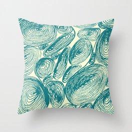 Inkshells II Throw Pillow