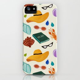 In love with summer! iPhone Case