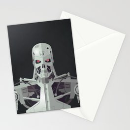 You've Been Targeted For Termination (T800) Stationery Cards