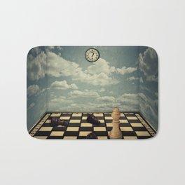 mystic chess room Bath Mat