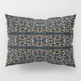 Floral Lace Stripes Print Pattern Pillow Sham