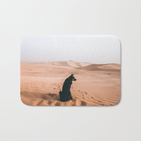 Find your way back home | Imperial Sand Dunes, California Bath Mat