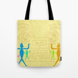 Meeting of cultures Tote Bag