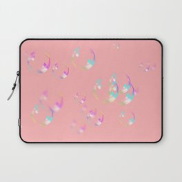 Bubbles & Bubblegum Pink Laptop Sleeve
