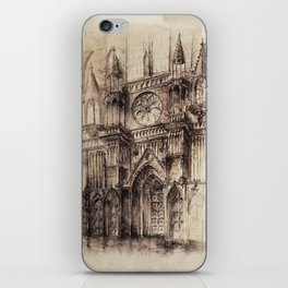 Gothic Cathedral 2 iPhone Skin