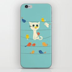 Birdwatching iPhone Skin