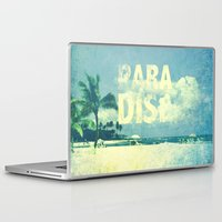 paradise Laptop & iPad Skins featuring Paradise by M Studio
