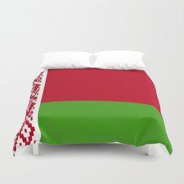 Belarus flag emblem Duvet Cover