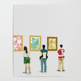 Ferris Bueller at the Art Museum Poster