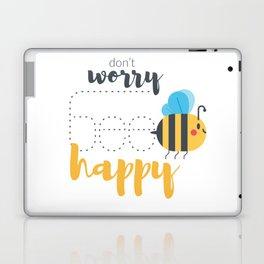 Don't worry BEE happy! Laptop & iPad Skin