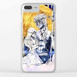 Zack X Tali Clear iPhone Case