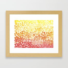 #56. UNTITLED (FALL) - Ombre Framed Art Print