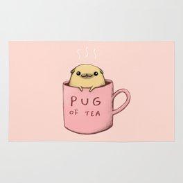 Pug of Tea Rug