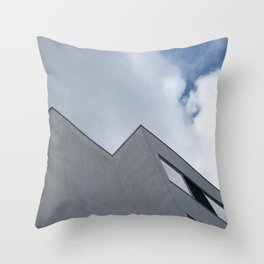 Trapped in the clouds Throw Pillow