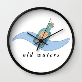 Old Waters Wall Clock