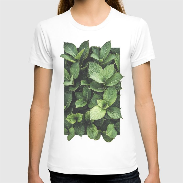 Peek-a-boo Leaves | Spring Photography T-shirt