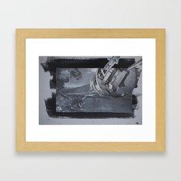 future-gone Framed Art Print
