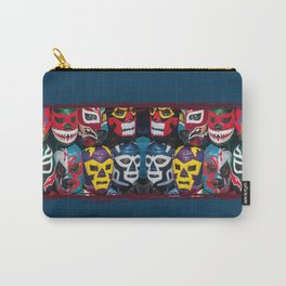 Mexican Wrestler Masks Carry-All Pouch