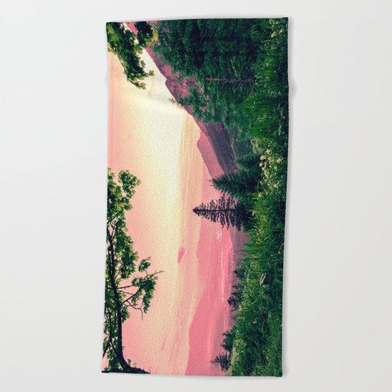 Alpine Fairytale Beach Towel