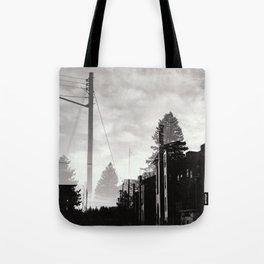 Ghostly Lines Tote Bag