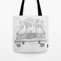 beastie boys Tote Bags featuring BEASTIE BOYS Y'ALL by Josh LaFayette