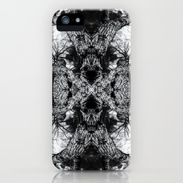 Gnarled Sleep of Forest Giant iPhone Case