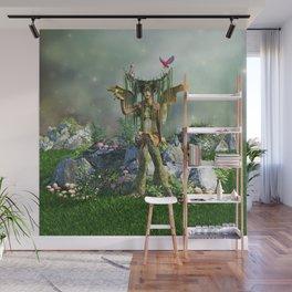 Earth Elemental Fairy Wall Mural