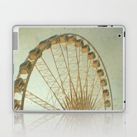 Golden Wheel Laptop & iPad Skin