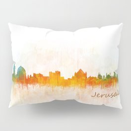 Jerusalem City Skyline Hq v3 Pillow Sham