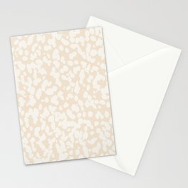 Boho Abstract Speckled Painted Pattern by Erin Kendal Stationery Cards