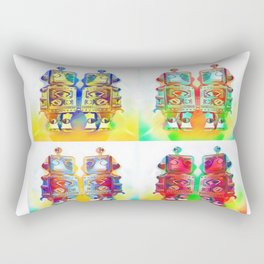 Panda Den: Mr Robot Rectangular Pillow
