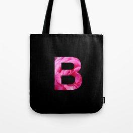Pink Rose B Tote Bag