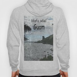 """Hafa Adai! Guam """"Bear Rock"""" Hoody"""