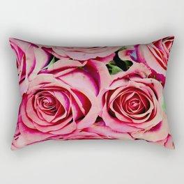 Romantic Roses Rectangular Pillow